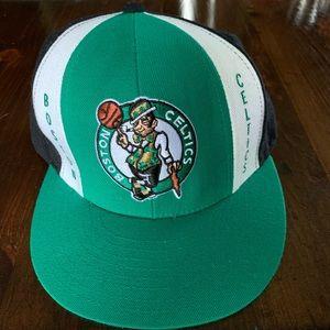 Boston Celtics Flat Brim